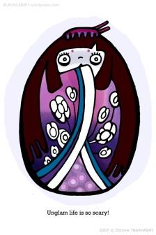 Princess Phobia Kokeshi