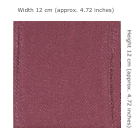 Chrimen Fabric Plain S10