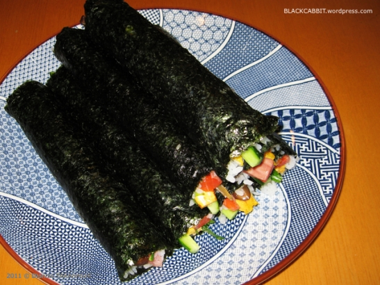long sushi roll