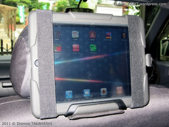 DIY iPad Car Holder