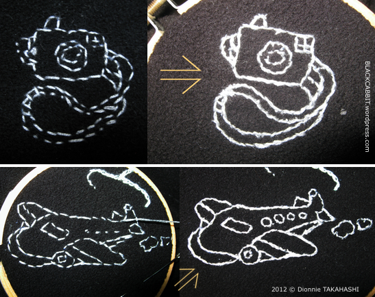 embroidery tissue paper