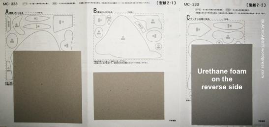 Kurumie Cardboard pattern