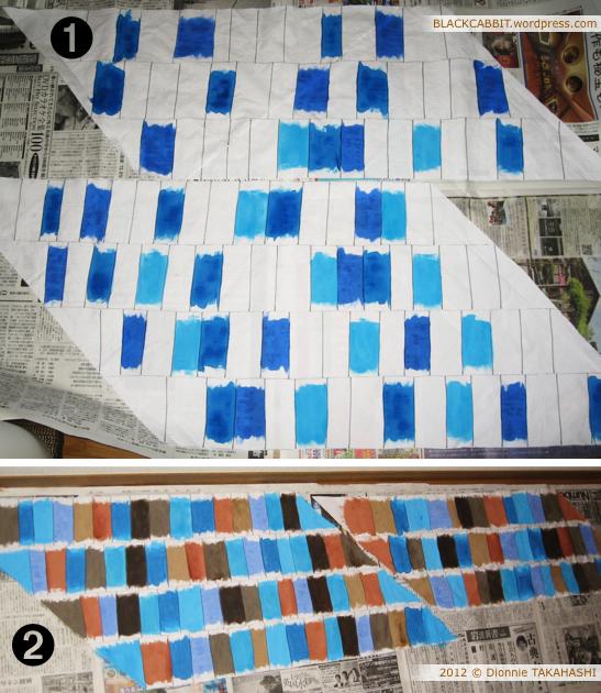 Paint bias binding