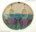Fish Craft Toilet Door