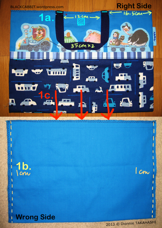 Japanese lesson bag