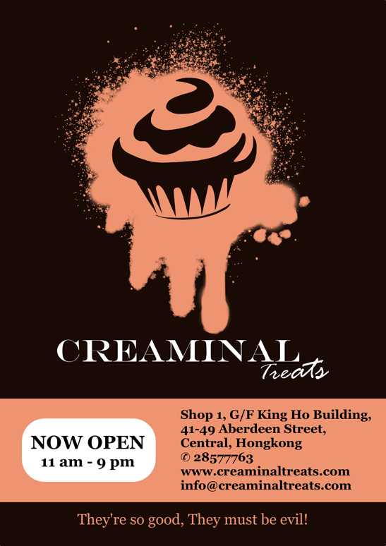 Creaminal Treats Flyer