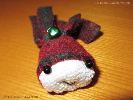 Christmas Chirimen Craft