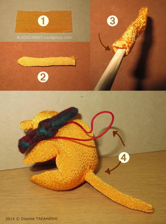 Japanese Chirimen craft