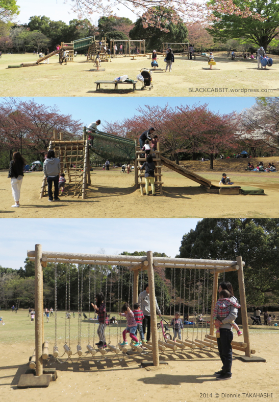Children playground in Japan