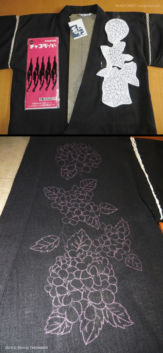 Transferring Pattern onto fabric