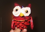 Christmas Tree Ornament Owl