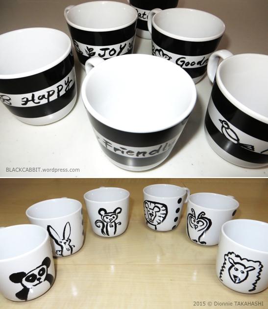 Ceramic paint mug