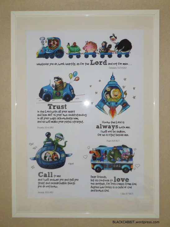 Children playroom poster