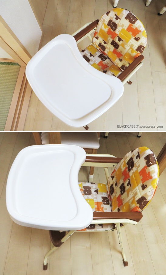 Baby High Chair Revamp