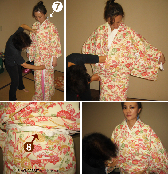 Wear a kimono