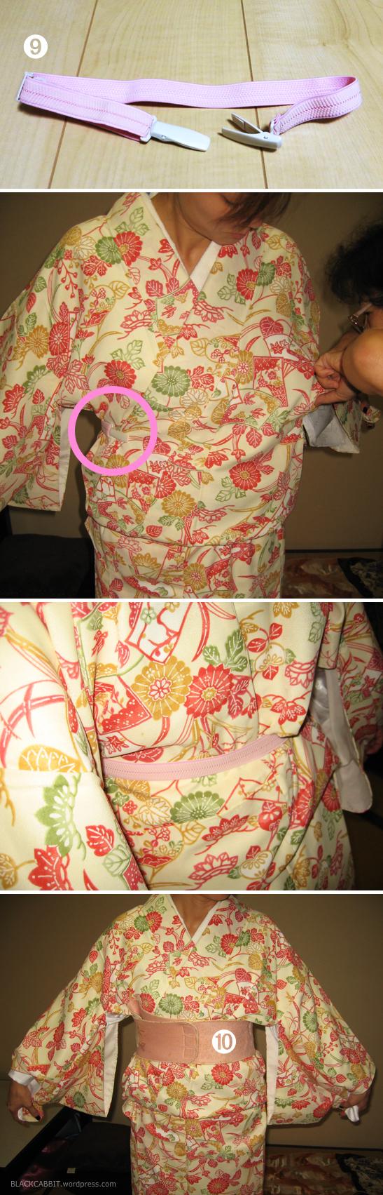 Using Kimono belt