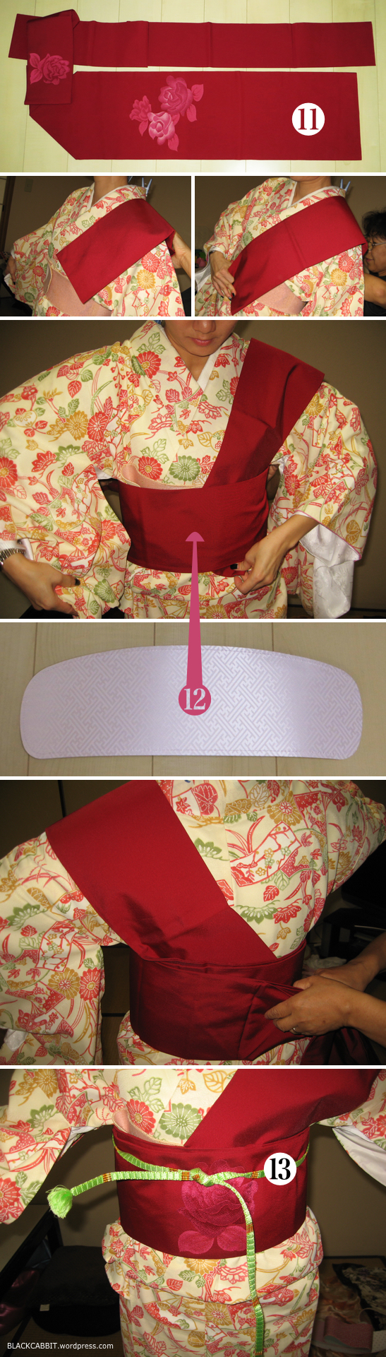 Learn to wear kimono