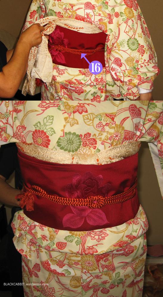 Kimono nagoya obi