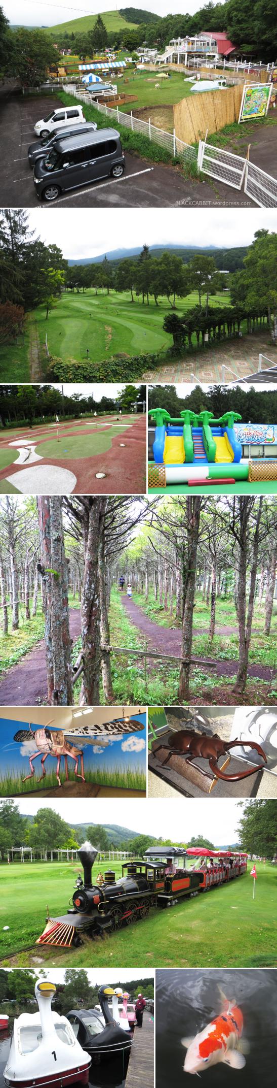 Golf park in Nagano
